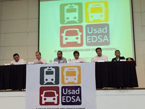 The technical working group solving EDSA's traffic. The group is headed by the Cabinet Secretary.