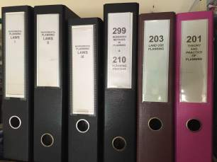 Filing and using binders