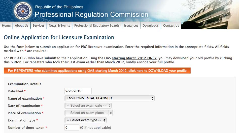 Source: http://www.prc.gov.ph/online/application/apply.aspx