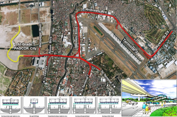 NAIA Expressway II Route. Source: http://www.dpwh.gov.ph/PPP/img/NAIAEX.jpg