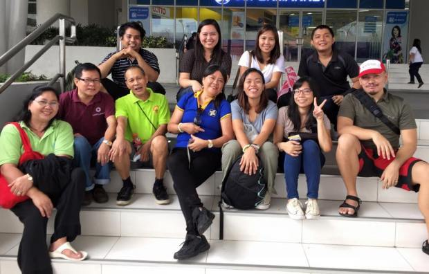 Our happy Geography class with Prof. Jake Cadag, Ph.D., and Ka Noli