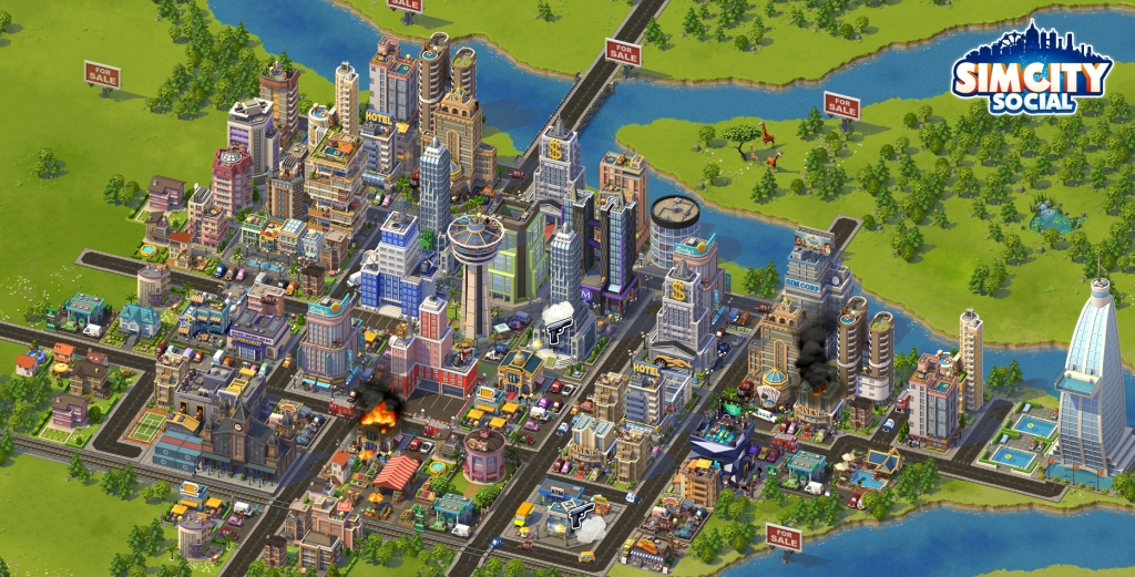 Sim City as an urban imaginary Source: http://web-vassets.ea.com/Assets/Resources/Image/Screenshots/scs-commercial-city.jpg?cb=1338867364